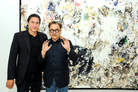 Michael Chow  Opening at Vito Schnabel Gallery